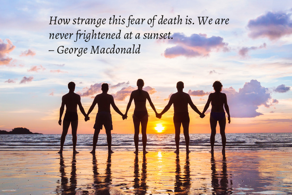 How strange this fear of death