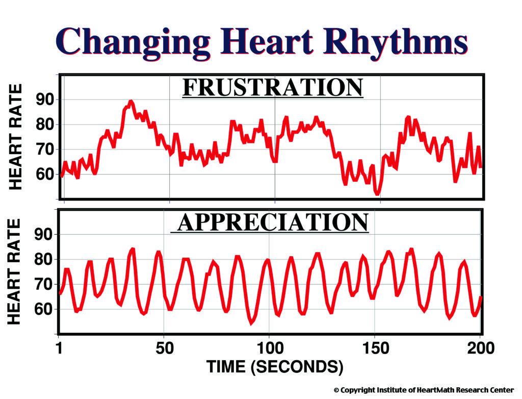 Changing Heart Rhythms Frustration and Appreciation
