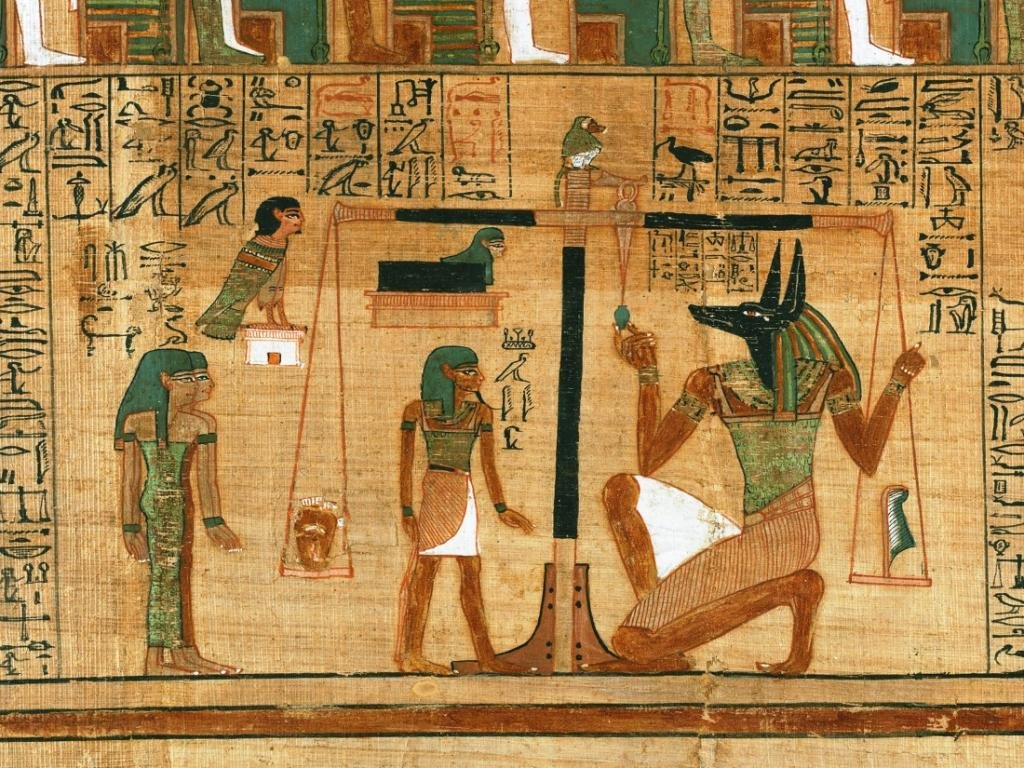 Weighing the Heart Ancient Egypt