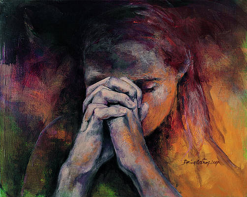 Praying Dorina Costras