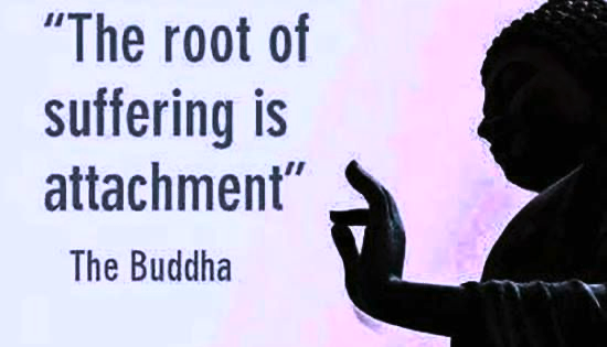 what is the root of all suffering