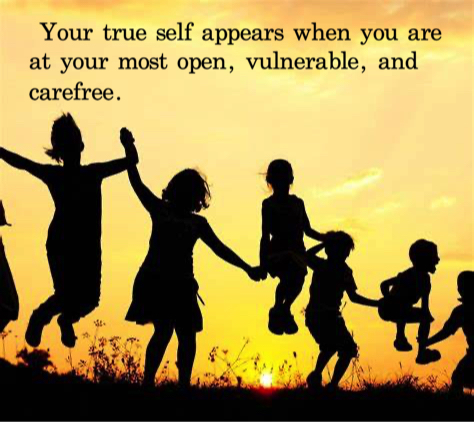 how to be your true self